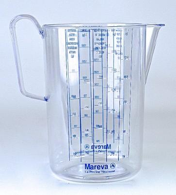 Dosiermass, 1,5 Liter